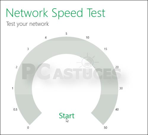 Astuce: Tester la vitesse de sa connexion internet (Windows 8) 3846-610