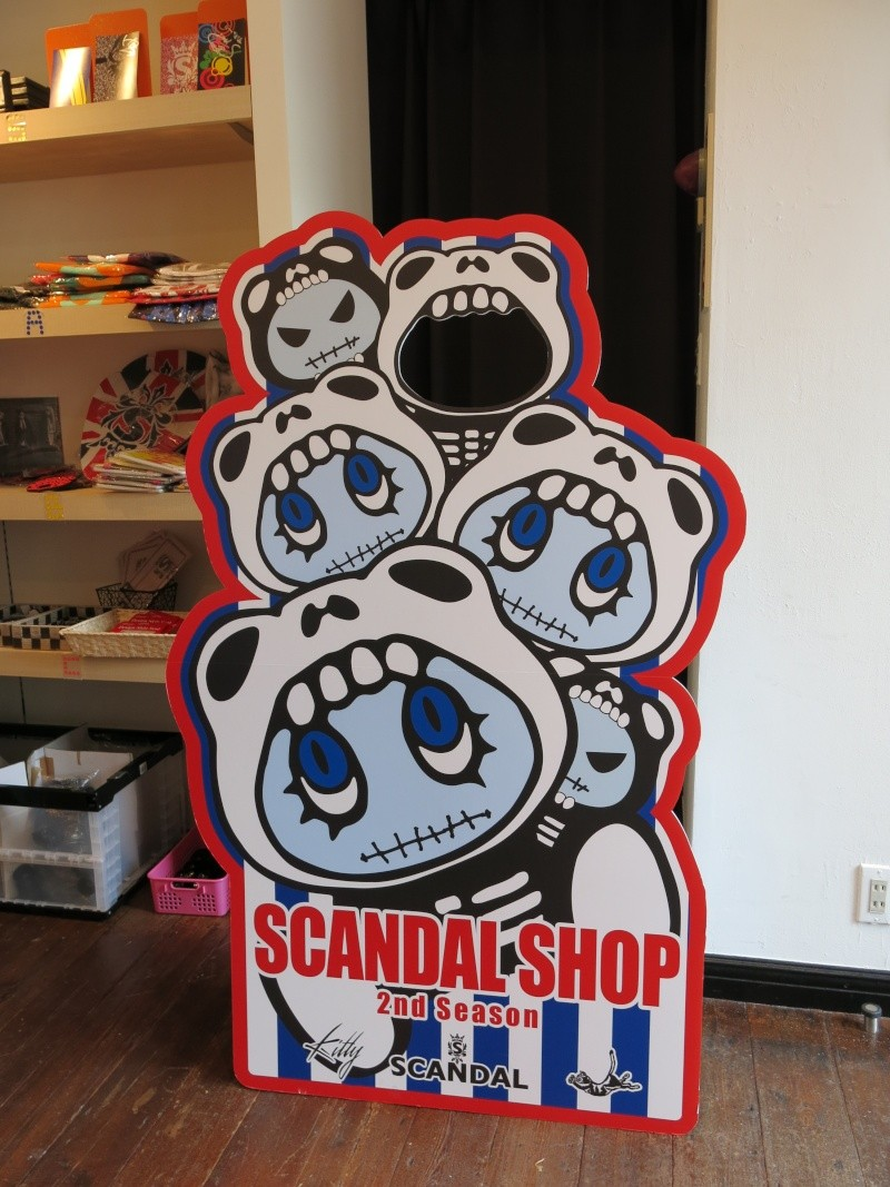 Where to purchase SCANDAL goods within Japan? Img_6323