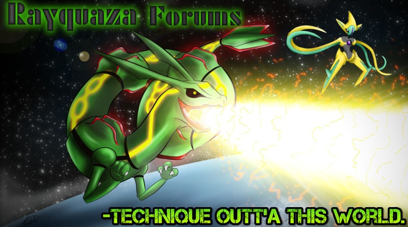 Rayquaza Forum Art Competition Rayqua14