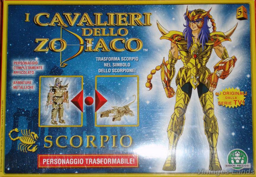 Cavalieri dello Zodiaco bootlegs e anni 2000 34be8b10