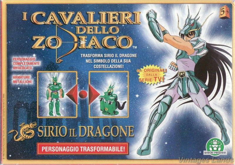Cavalieri dello Zodiaco bootlegs e anni 2000 83f6a610