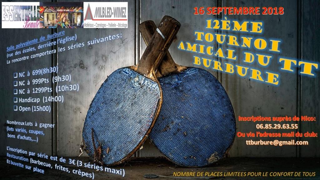 12ème Tournoi Amical Du TT Burbure le 16 septembre Affich10