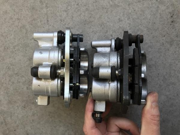 Etrier de freins AV AR XTZ et Triumph!! Img-6510