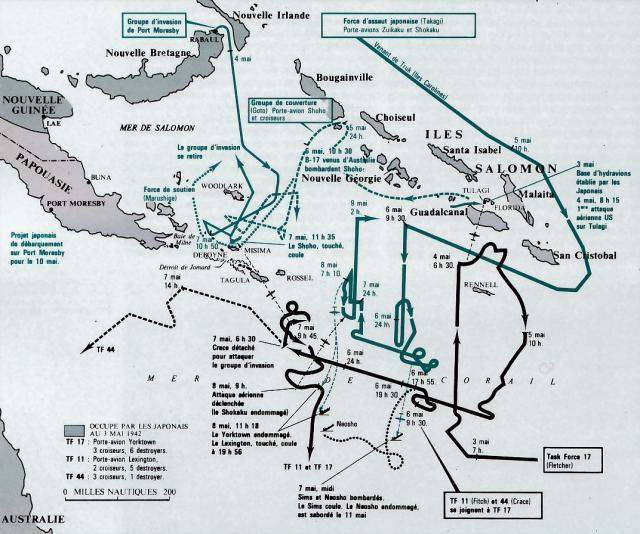 BATAILLE DE LA MER DE CORAIL (MAI 1942) (Terminé) Batail21
