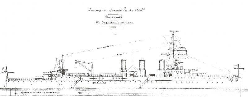 CROISEURS LOURDS CLASSE DUQUESNE (FRANCE) (Terminé) Convoy10