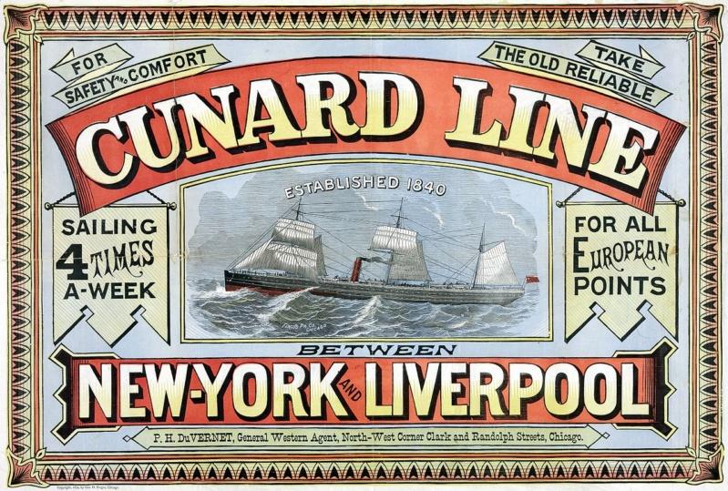 PAQUEBOT QUEEN ELIZABETH (GRANDE BRETAGNE) (Terminé) Cunard11