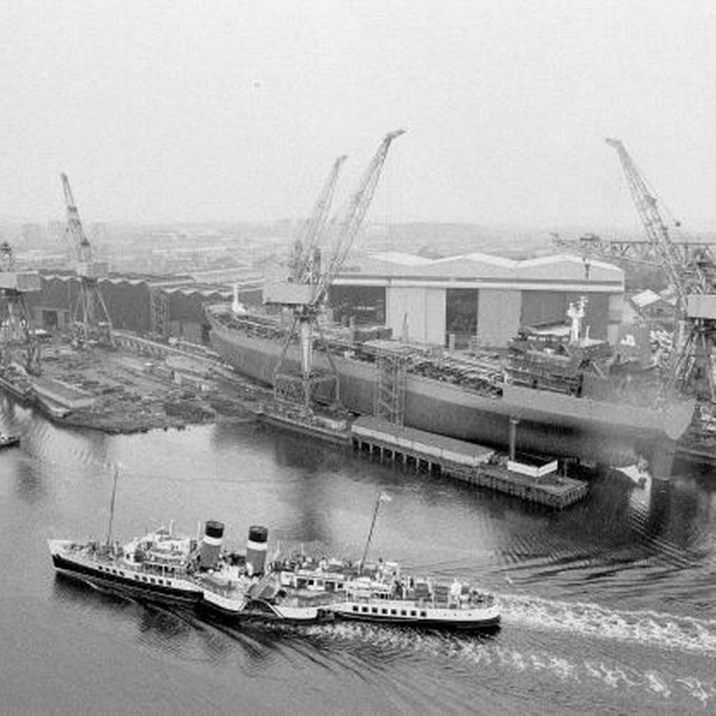 PORTE-HELICOPTERES HMS OCEAN (L-12) Govan10