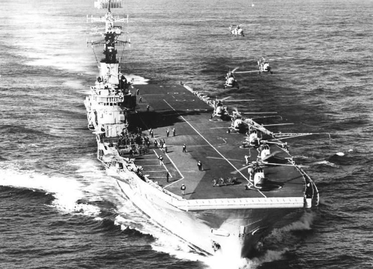 PORTE-HELICOPTERES HMS OCEAN (L-12) Hms_al11