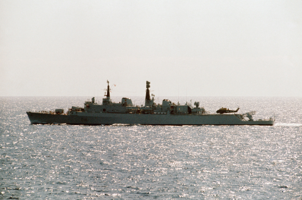 DESTROYERS LANCE-MISSILES CLASSE SHEFFIELD (TYPE 42) (NV) Hms_an10
