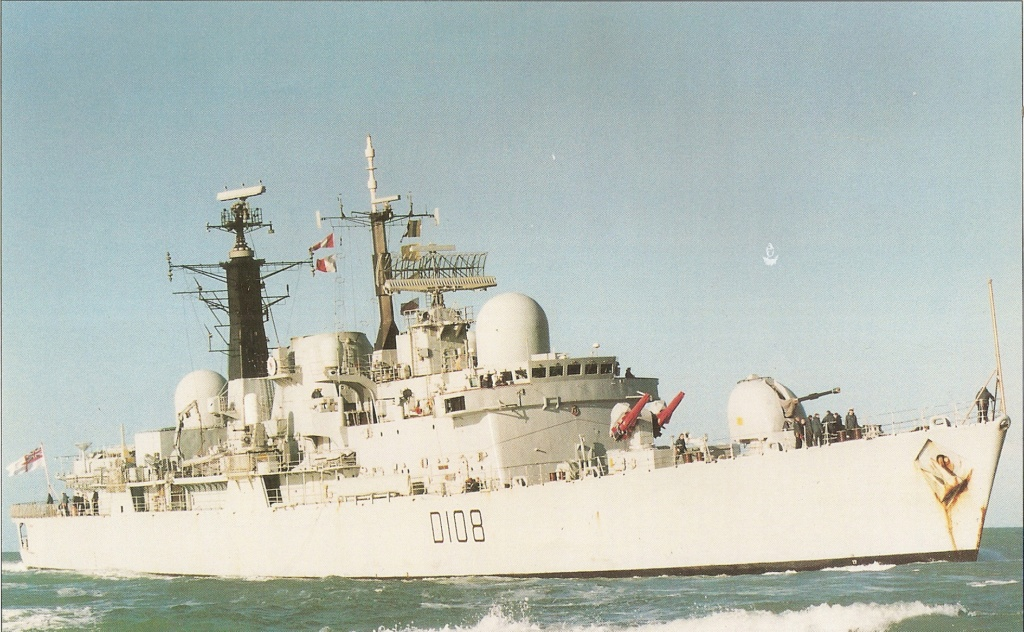 DESTROYERS LANCE-MISSILES CLASSE SHEFFIELD (TYPE 42) (NV) Hms_ca12