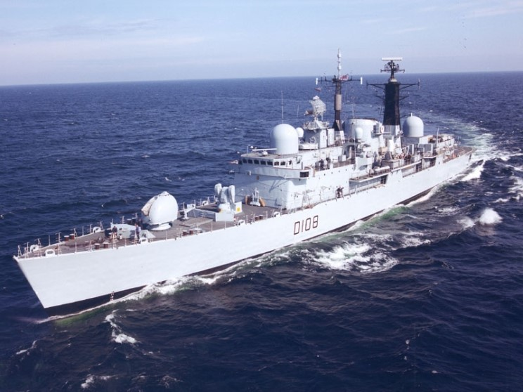 DESTROYERS LANCE-MISSILES CLASSE SHEFFIELD (TYPE 42) (NV) Hms_ca14