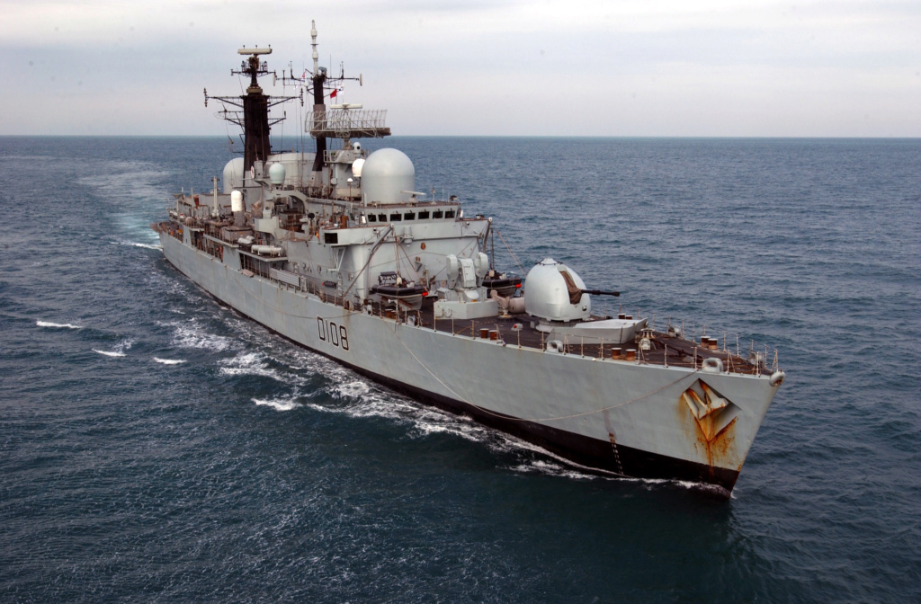 DESTROYERS LANCE-MISSILES CLASSE SHEFFIELD (TYPE 42) (NV) Hms_ca15