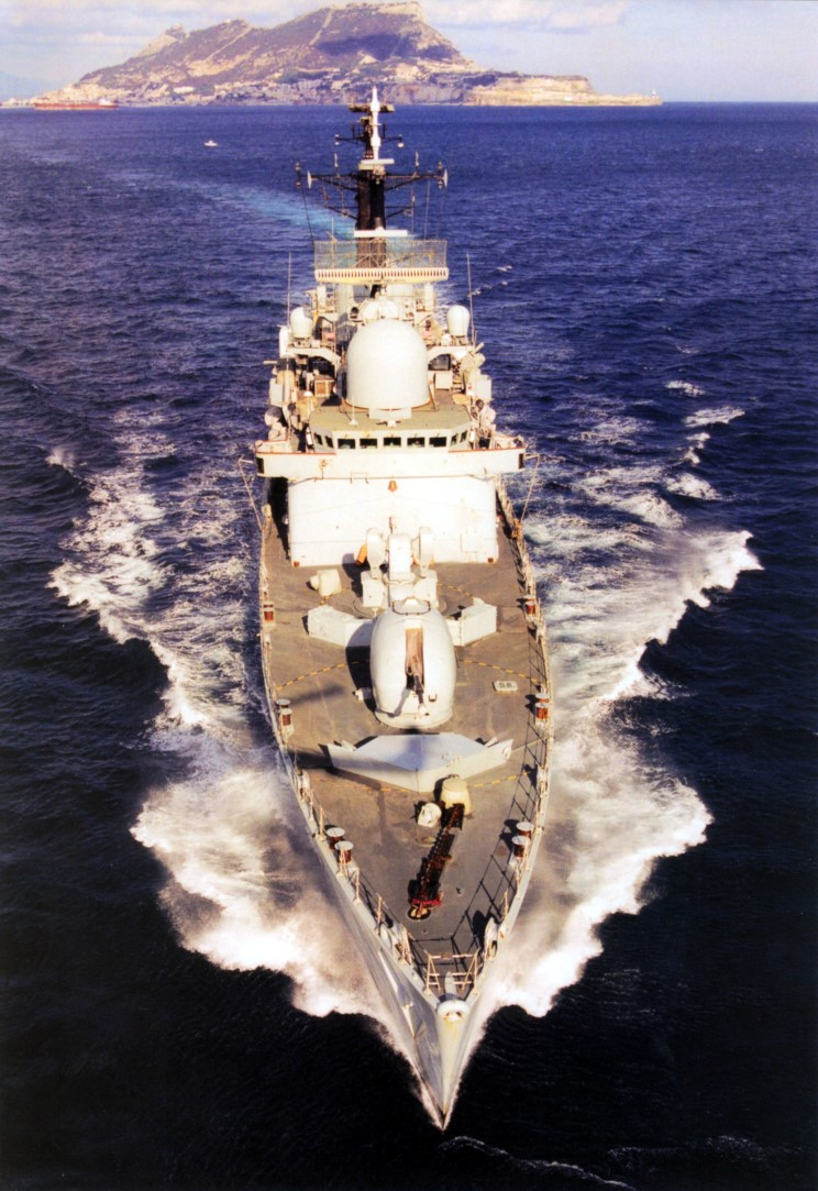 DESTROYERS LANCE-MISSILES CLASSE SHEFFIELD (TYPE 42) (NV) Hms_ca16