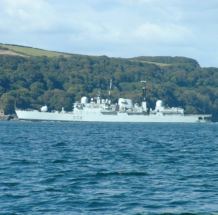 DESTROYERS LANCE-MISSILES CLASSE SHEFFIELD (TYPE 42) (NV) Hms_ca17