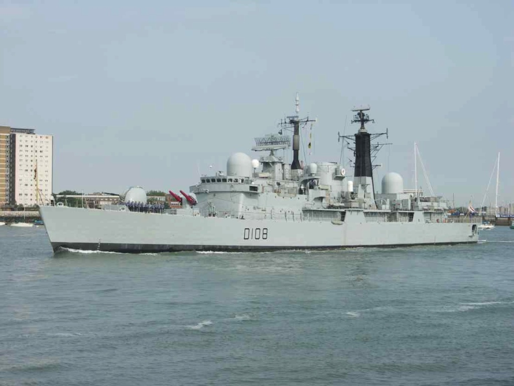 DESTROYERS LANCE-MISSILES CLASSE SHEFFIELD (TYPE 42) (NV) Hms_ca18