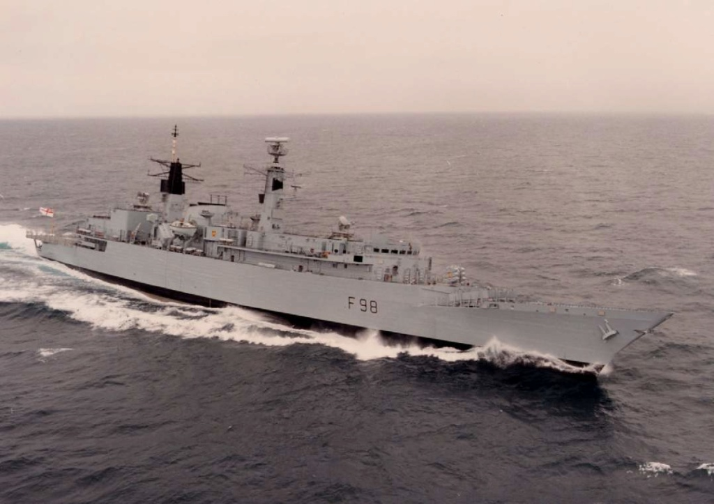 DESTROYERS LANCE-MISSILES CLASSE SHEFFIELD (TYPE 42) (NV) Hms_co15