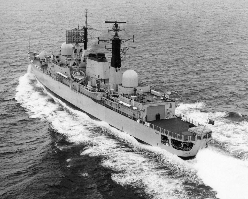 DESTROYERS LANCE-MISSILES CLASSE SHEFFIELD (TYPE 42) (NV) Hms_co16