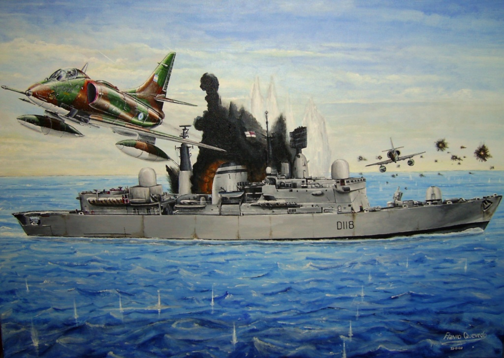 DESTROYERS LANCE-MISSILES CLASSE SHEFFIELD (TYPE 42) (NV) Hms_co18