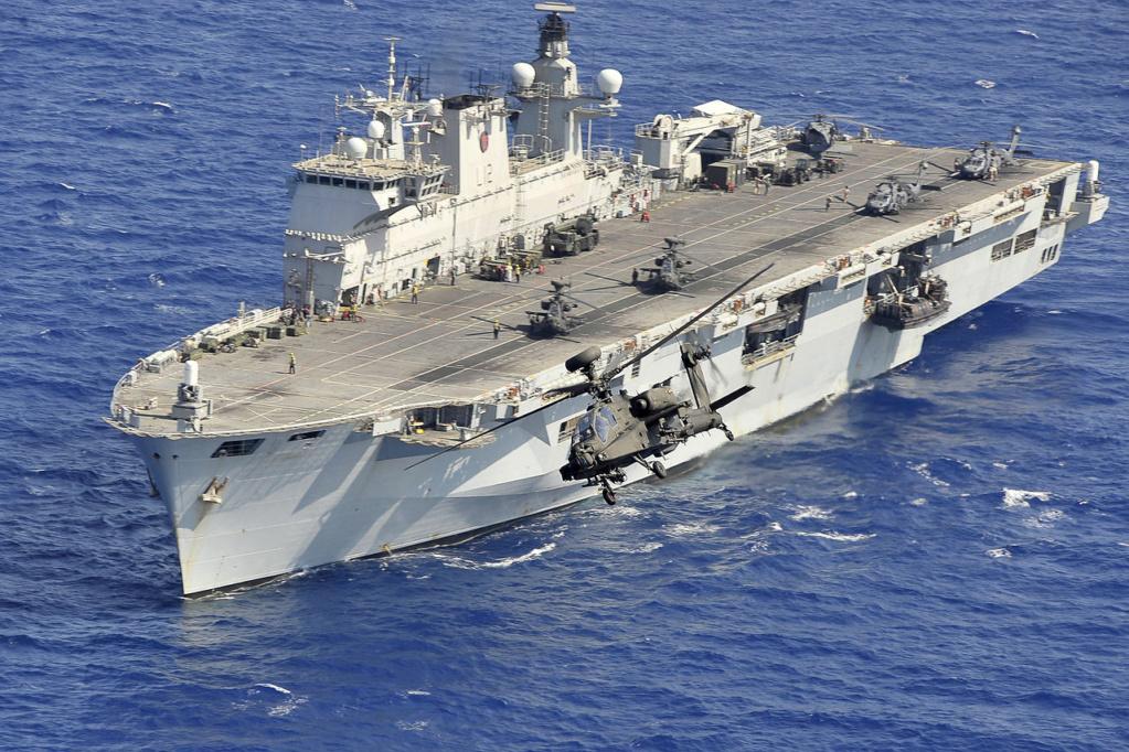 PORTE-HELICOPTERES HMS OCEAN (L-12) Hms_oc30