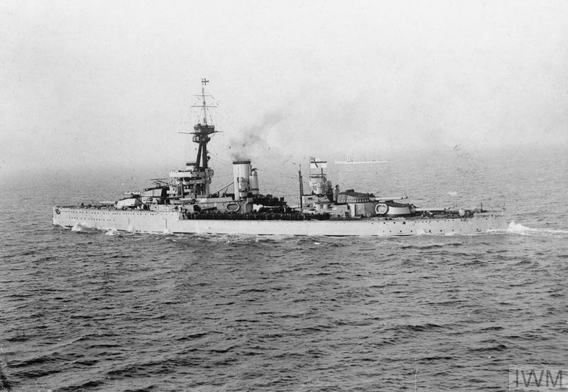 CUIRASSES CLASSE KING GEORGE V (1936) (GRANDE BRETAGNE) Hms_or11