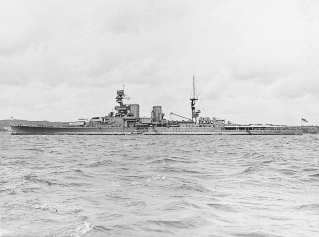 CUIRASSES CLASSE KING GEORGE V (1936) (GRANDE BRETAGNE) Hms_re12