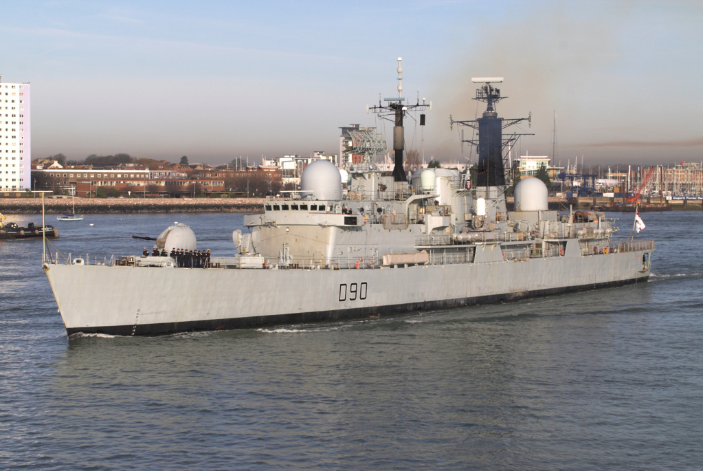 DESTROYERS LANCE-MISSILES CLASSE SHEFFIELD (TYPE 42) (NV) Hms_so10