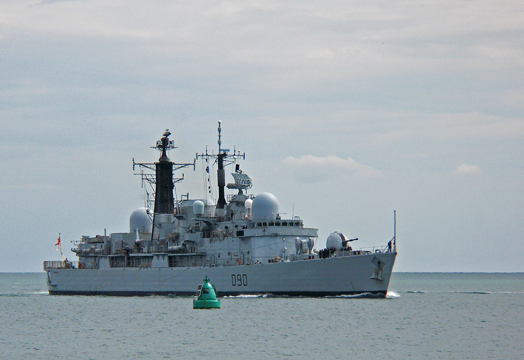 DESTROYERS LANCE-MISSILES CLASSE SHEFFIELD (TYPE 42) (NV) Hms_so12