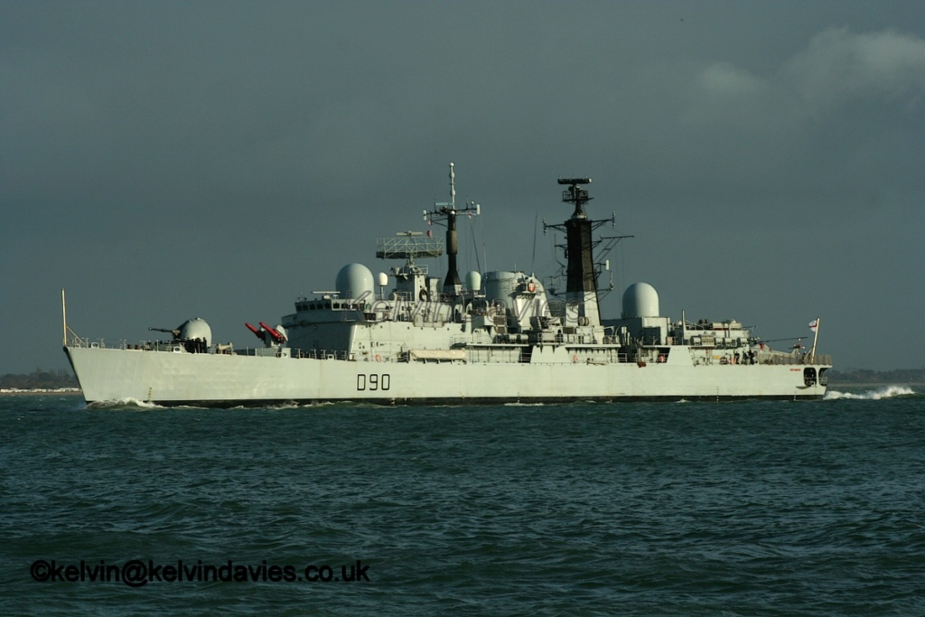 DESTROYERS LANCE-MISSILES CLASSE SHEFFIELD (TYPE 42) (NV) Hms_so13