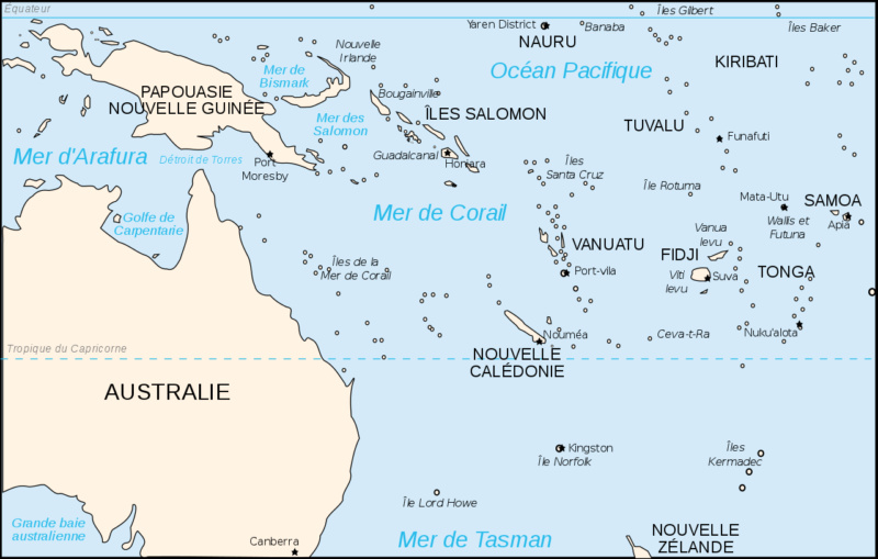 BATAILLE DE LA MER DE CORAIL (MAI 1942) (Terminé) Mer_de10