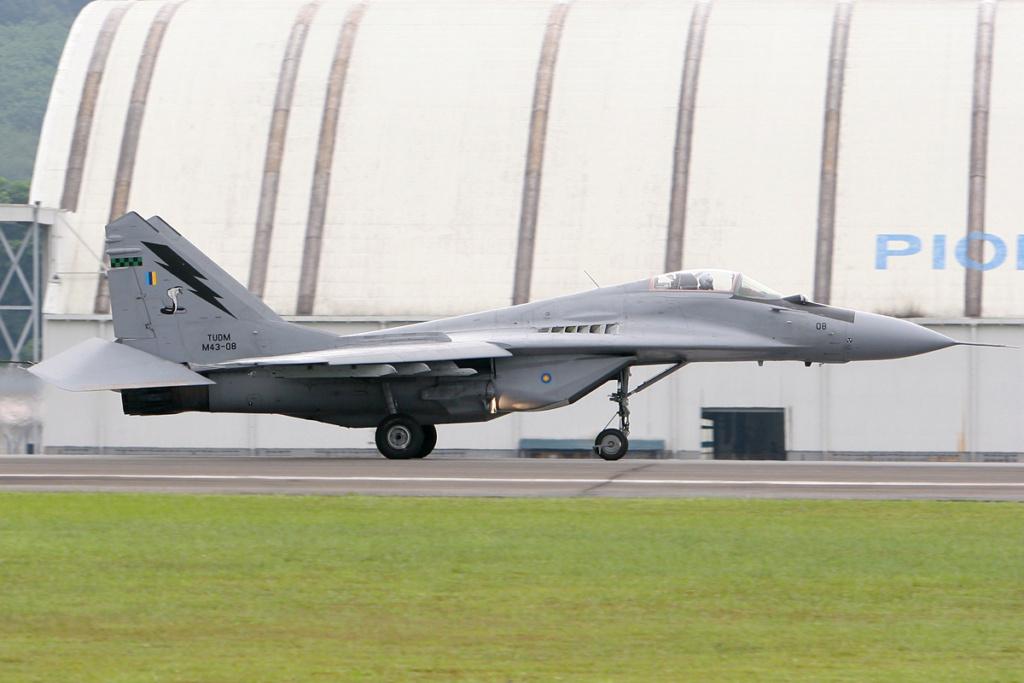 "MIKOYAN GOUREVITCH (MIG) MiG-29 ""FULCRUM""  Mig-2104"