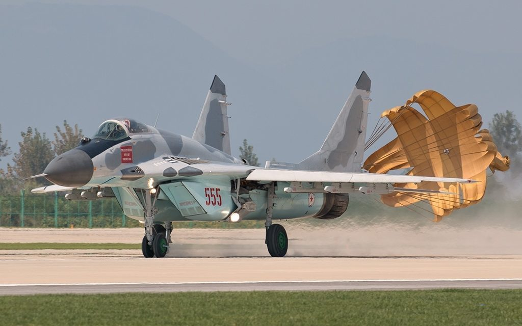 "MIKOYAN GOUREVITCH (MIG) MiG-29 ""FULCRUM""  Mig-2107"