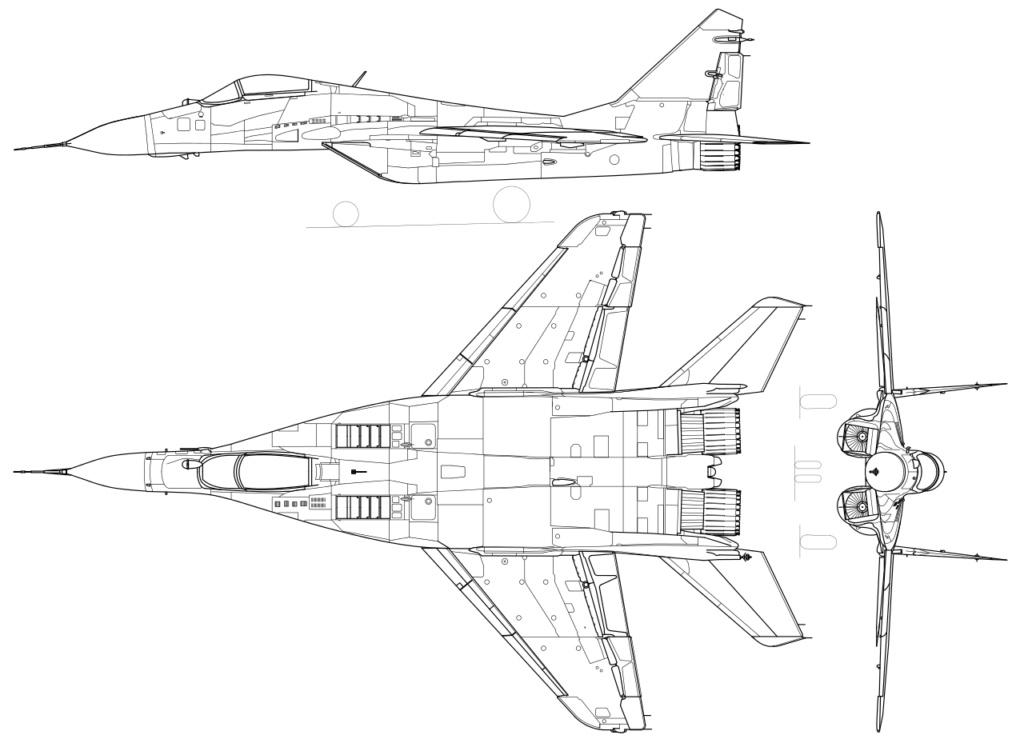 "MIKOYAN GOUREVITCH (MIG) MiG-29 ""FULCRUM""  Mig-2910"