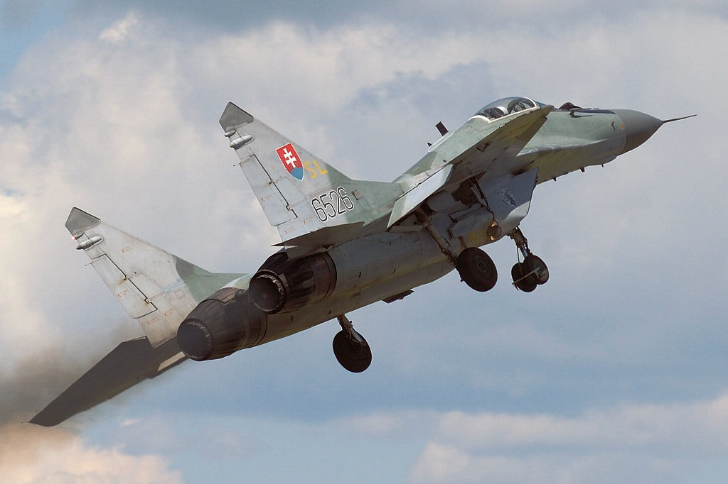 "MIKOYAN GOUREVITCH (MIG) MiG-29 ""FULCRUM""  Mig-2920"