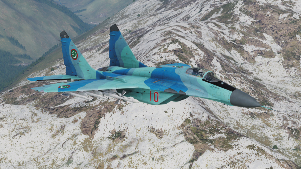 "MIKOYAN GOUREVITCH (MIG) MiG-29 ""FULCRUM""  Mig-2958"