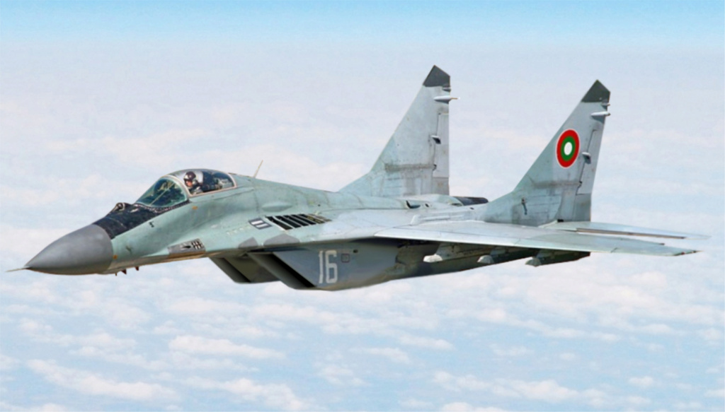 "MIKOYAN GOUREVITCH (MIG) MiG-29 ""FULCRUM""  Mig-2980"
