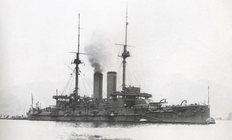 [Article] BATAILLE DE TSUSHIMA (27-28 MAI 1905) (Terminé) Mikasa10