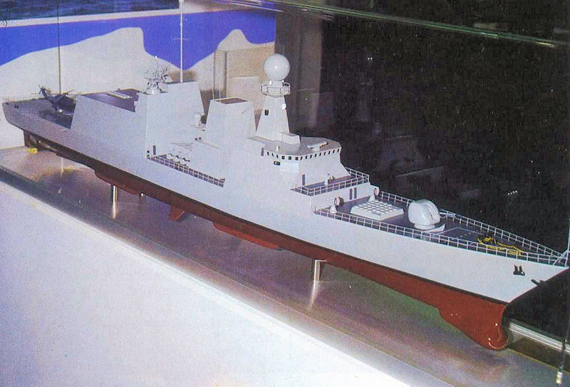 DESTROYERS LANCE-MISSILES CLASSE SHEFFIELD (TYPE 42) (NV) Nfr-9010