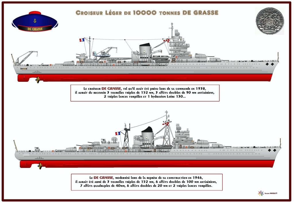 CROISEUR LEGER DE GRASSE (FRANCE) (Terminé) Profil10