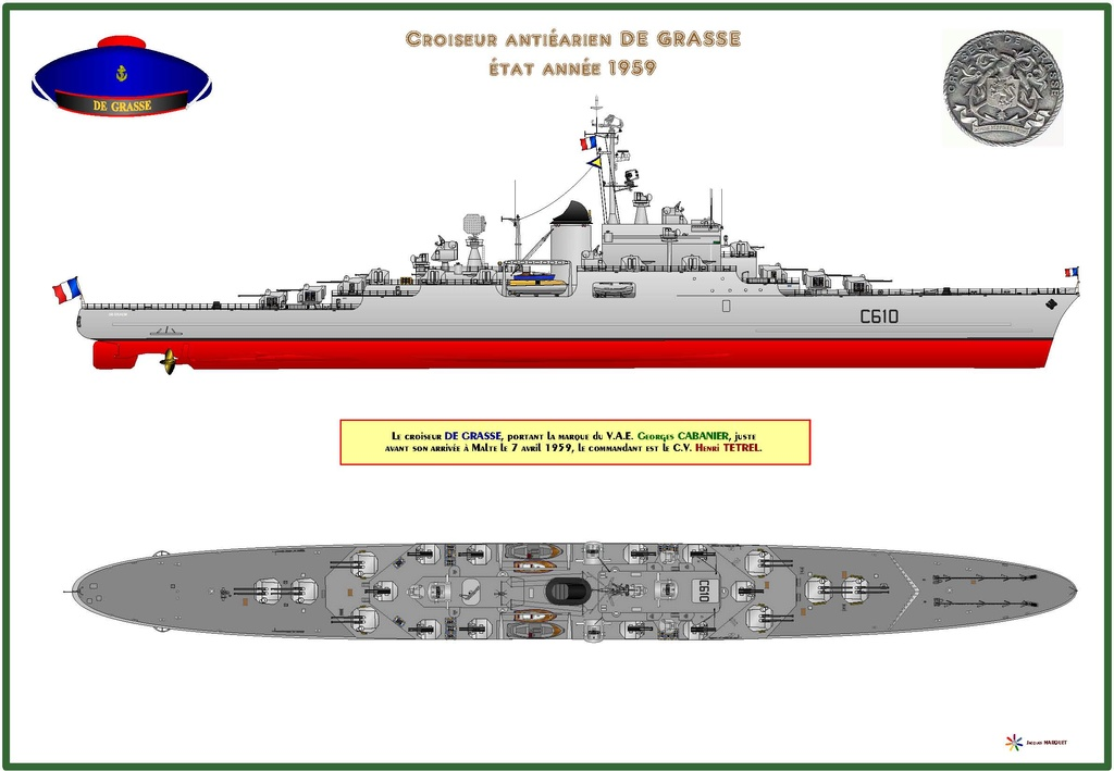 CROISEUR LEGER DE GRASSE (FRANCE) (Terminé) Profil12