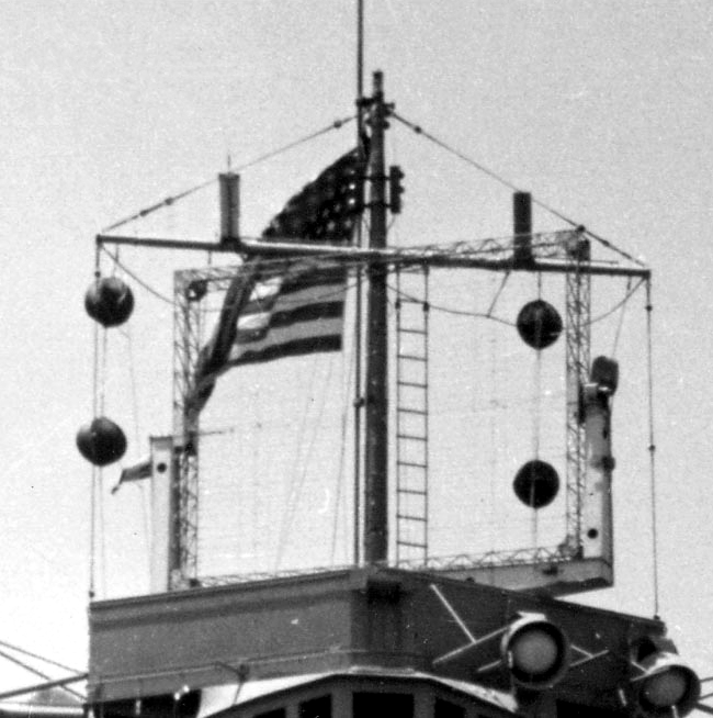 PORTE-AVIONS CLASSE LEXINGTON (ETATS-UNIS) (NV) (Terminé) Radar_10