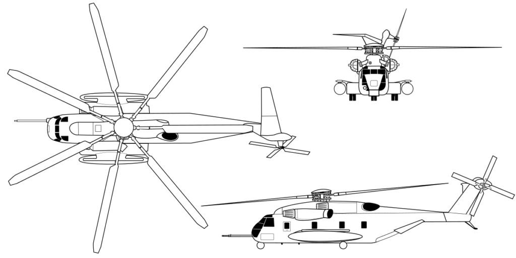 SIKORSKY S-65 SEA STALLION / S-80 SUPER STALLION (FIN) Sikor144