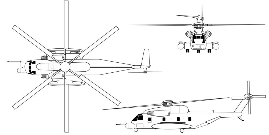 SIKORSKY S-65 SEA STALLION / S-80 SUPER STALLION (FIN) Sikor145
