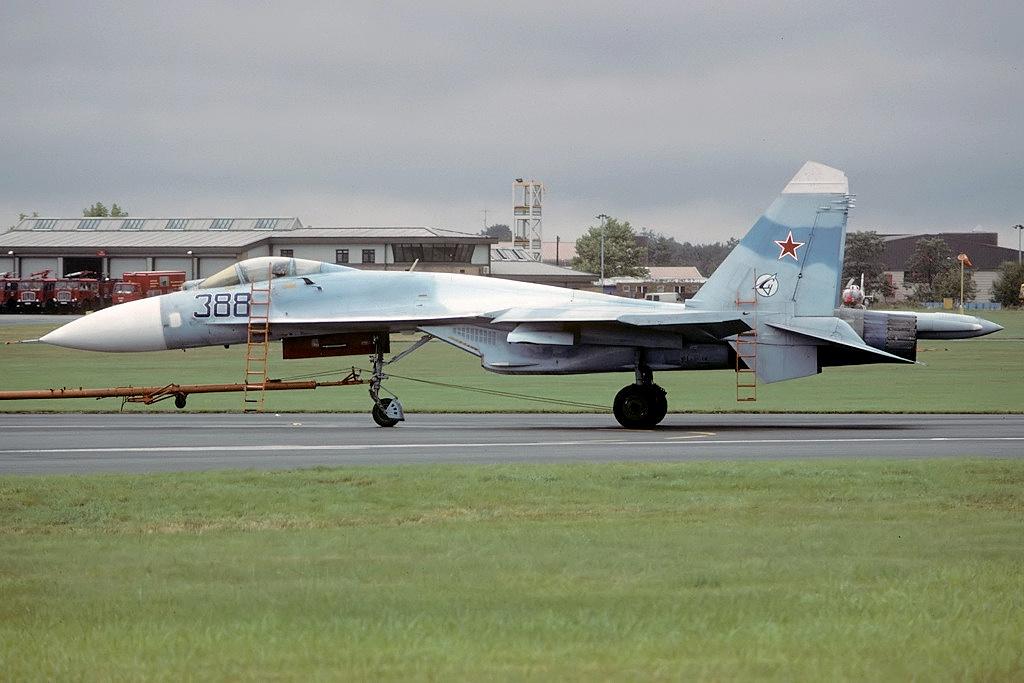 SUKHOÏ SU-27 FLANKER Sukhoi29