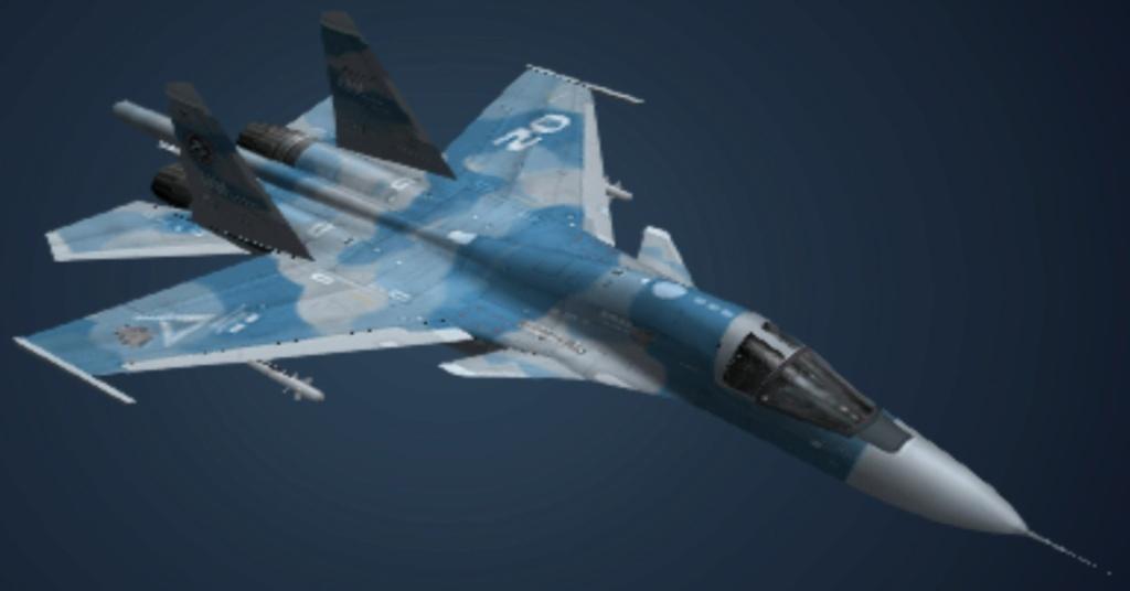 SUKHOÏ SU-27 FLANKER Sukhoi34