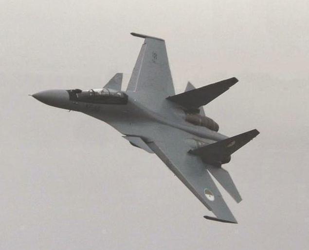 SUKHOÏ SU-27 FLANKER Sukhoi39