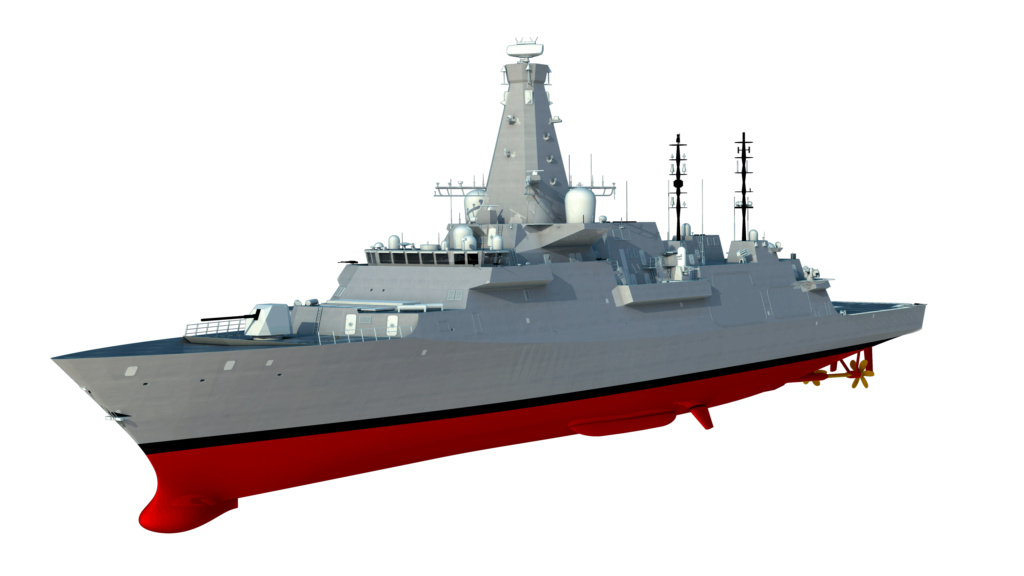 DESTROYERS LANCE-MISSILES CLASSE SHEFFIELD (TYPE 42) (NV) Type_210