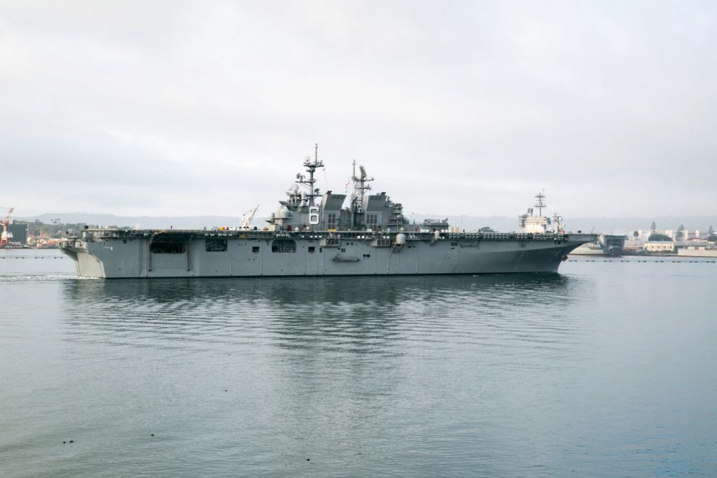 PORTE-HELICOPTERES HMS OCEAN (L-12) Uss_am13