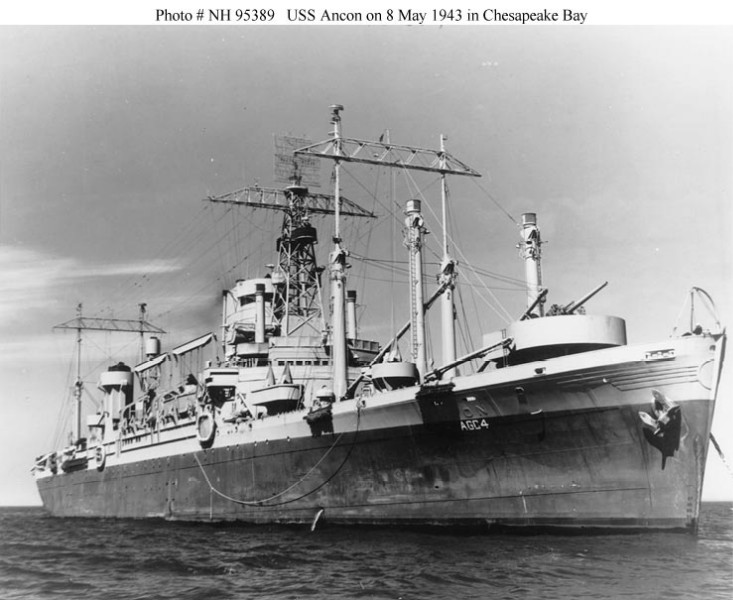 AMPHIBIOUS FORCE COMMAND SHIP (LCC) CLASSE BLUE RIDGE (Fini) Uss_an11