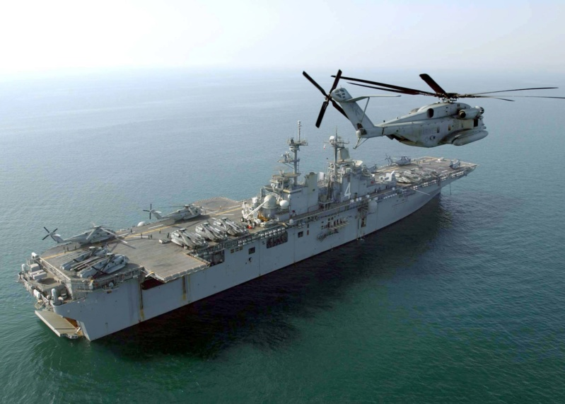 LANDING HELICOPTER DOCK (LHD) CLASSE WASP (TERMINE) Uss_bo18