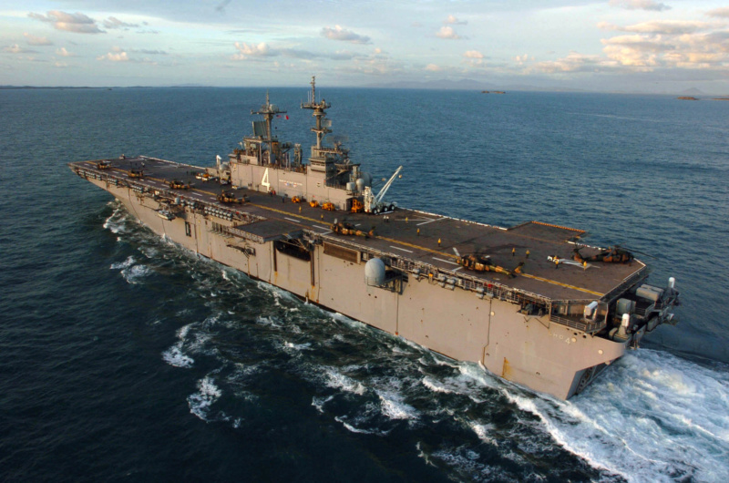 LANDING HELICOPTER DOCK (LHD) CLASSE WASP (TERMINE) Uss_bo19